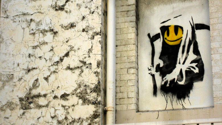 Banksy Street Art Graffiti Artist All Those Shapes