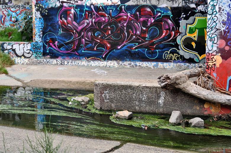 mist graffiti writer