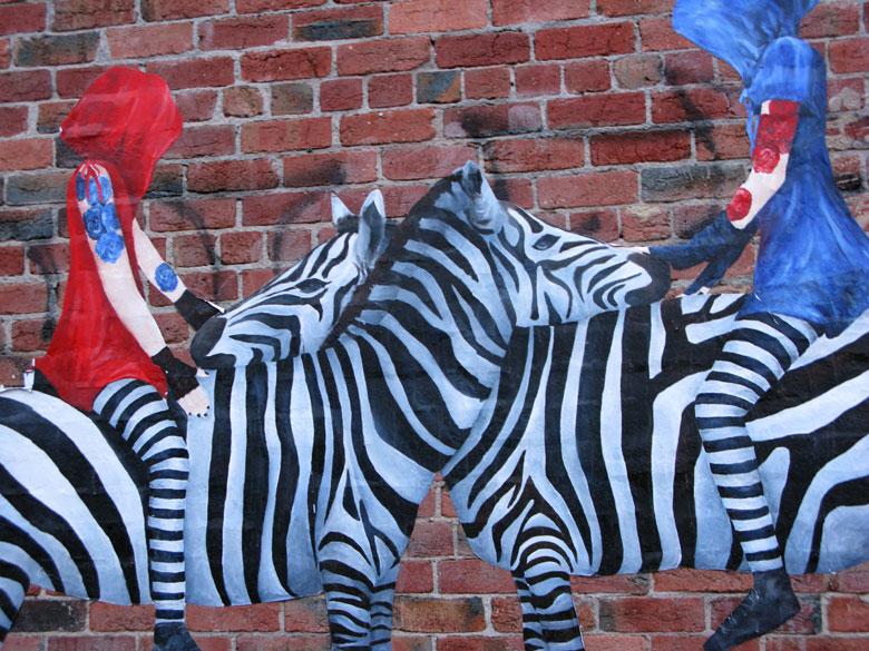 Cake Street Artist : urban cake lady street art paste up artist all ...