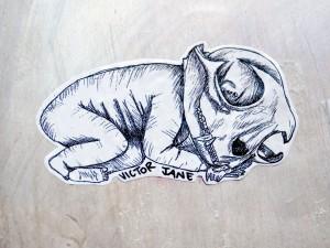 all-those-shapes_-_victor-jane_-_sleepy-skull-cat-baby_-_flinders-lane