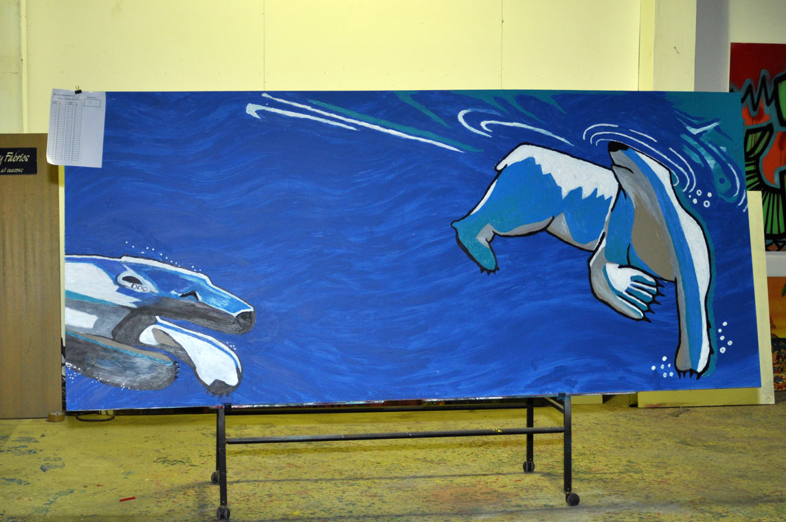 all-those-shapes_-_powerhouse-auction_07_simon-northeast_polar-bear-swim
